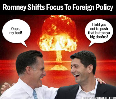 Pic Of The Moment: Romney Shifts Focus To Foreign Policy ...